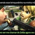 Chama De Zelda agr fdp