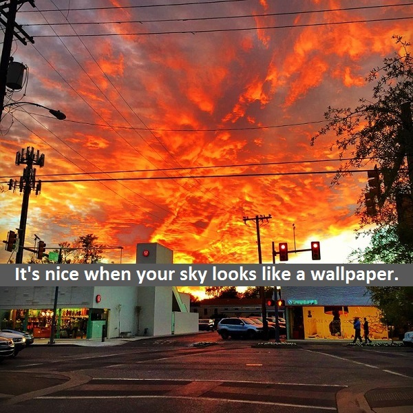 Such a beautiful skyline - meme