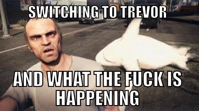 Trevor Phillips  - meme