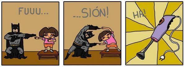 Bat-y-Dora - meme