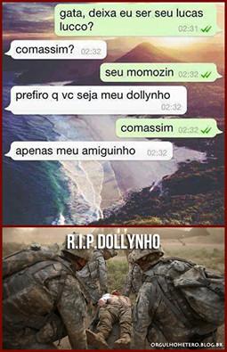 R.I.P Dollynho - meme