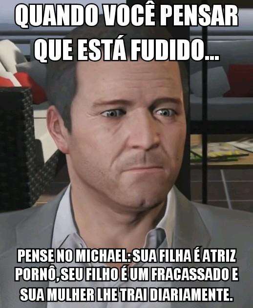 Se fode aê Michael - meme