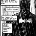 Batman isn't funny.