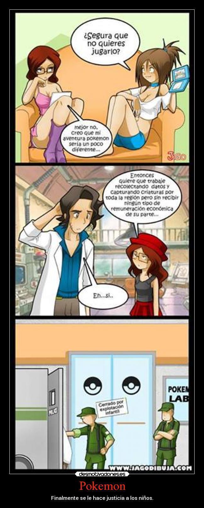 ¬¬ pokemon visto desde la vista de: Hipster-girl - meme
