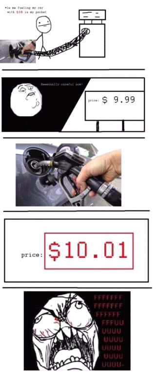 gas pumping fuuuu - meme