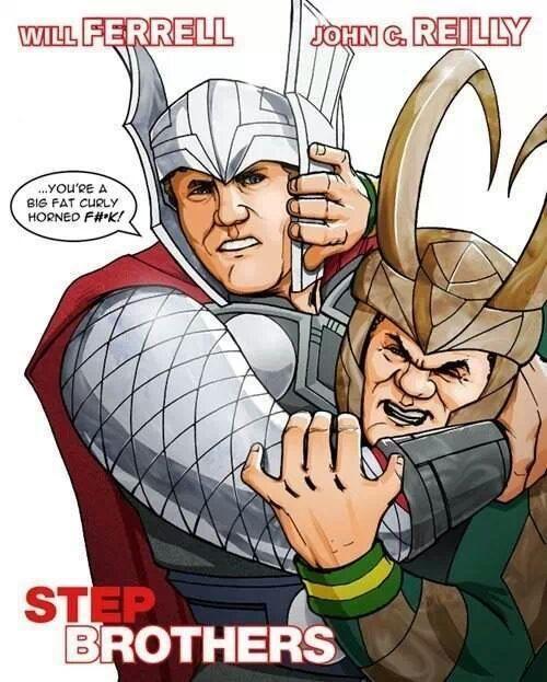 puts nutsack on Thor's hammer - meme