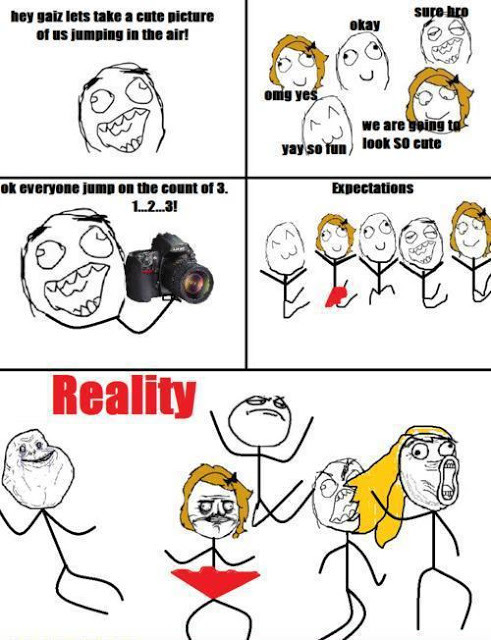 expectation vs reality - meme