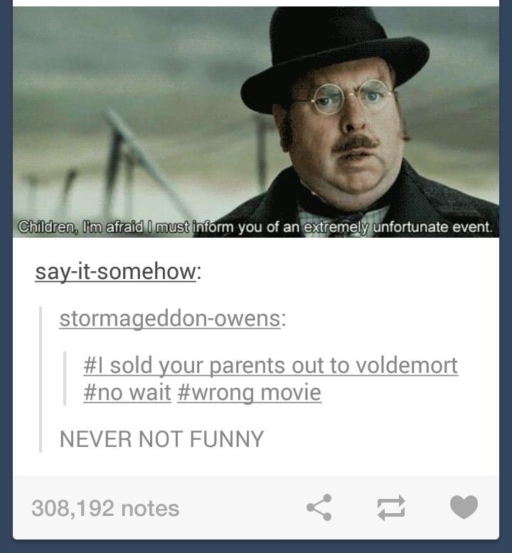 fuckin' Pettigrew at it again - meme