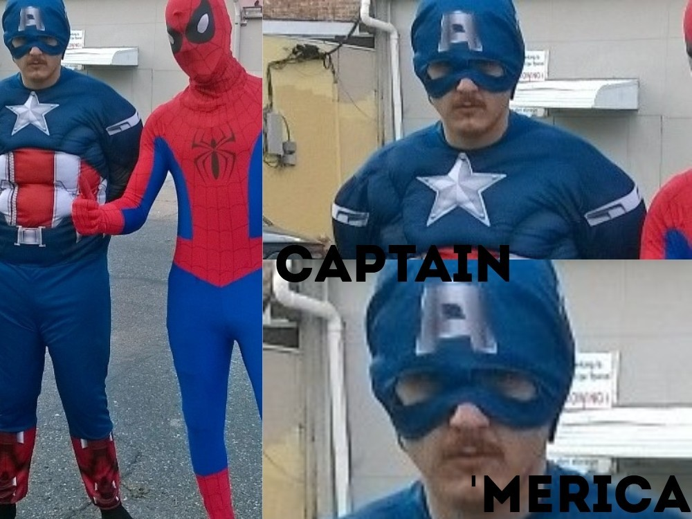 cap's let himself go - meme