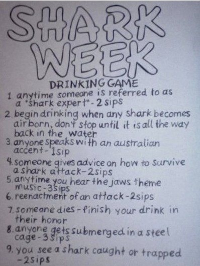 Get ready for shark week! - meme