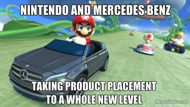 Legit Benz-DLC for MK8 in Japan - meme