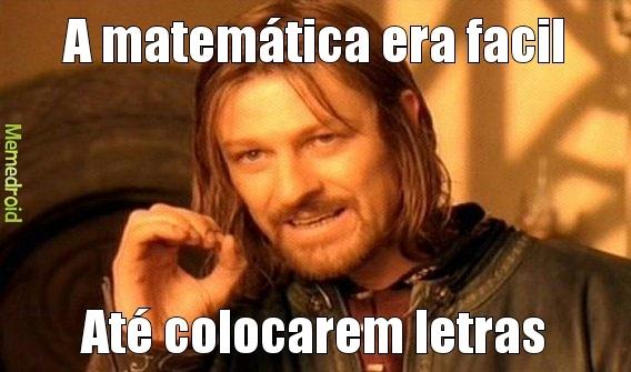 Matematica... - meme