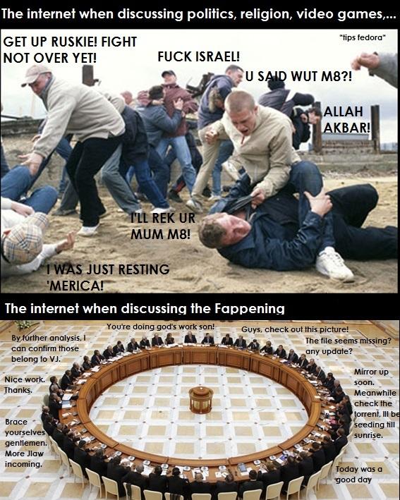 Internet War - meme