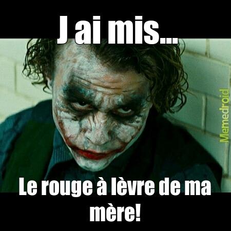 Maquillage - meme