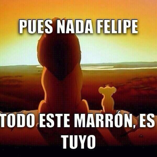 Pobre Felipe... - meme