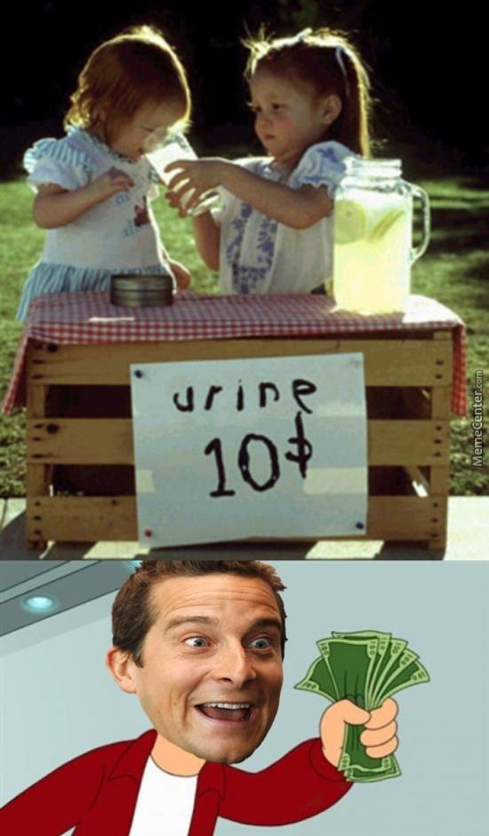 Best marketplace for Bear Grylls - meme
