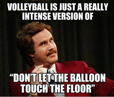 Volleyball - meme