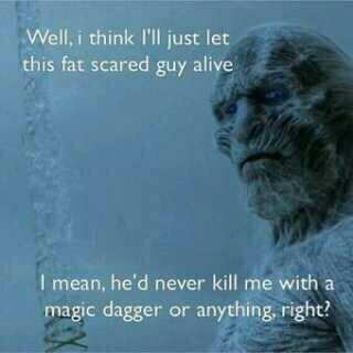 white walkers logic - meme