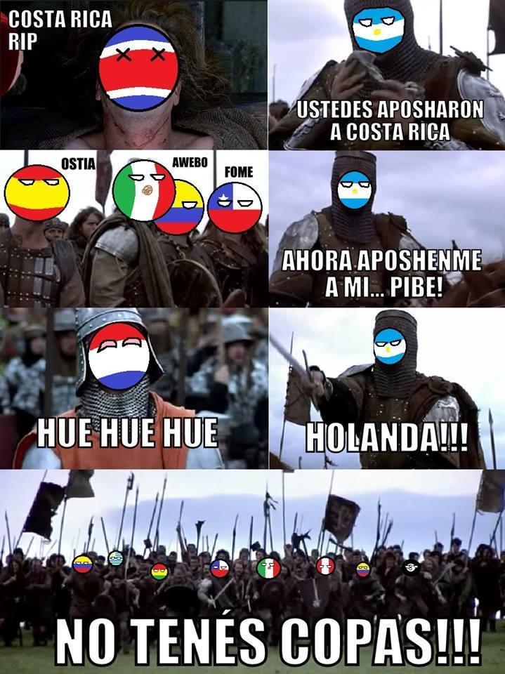 NO TENES COPAAAAAAAAAAS - meme