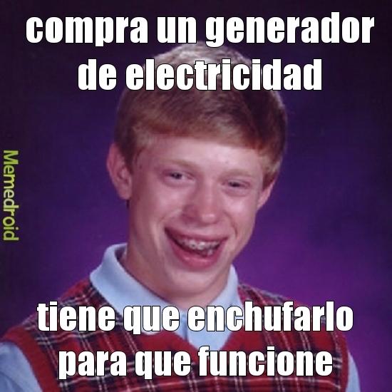 electricidad - meme