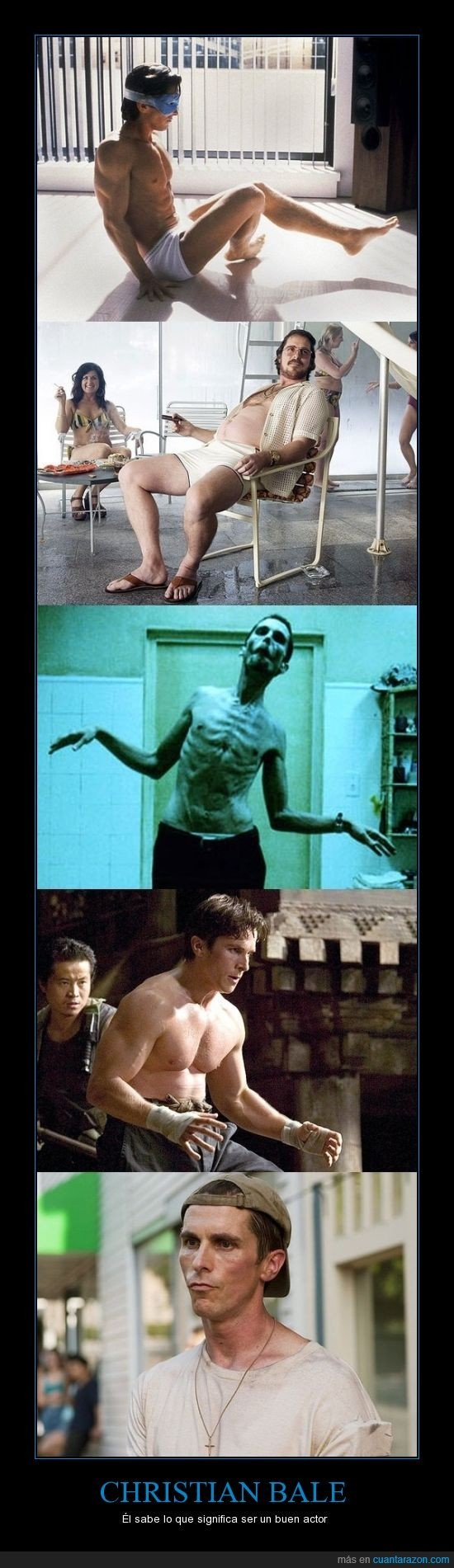 Christian Bale es una verga - meme