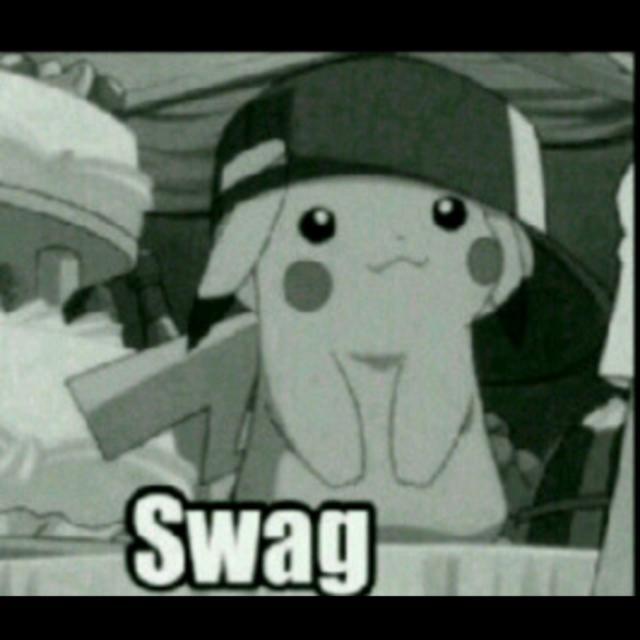 pikachu con SWAG! - meme