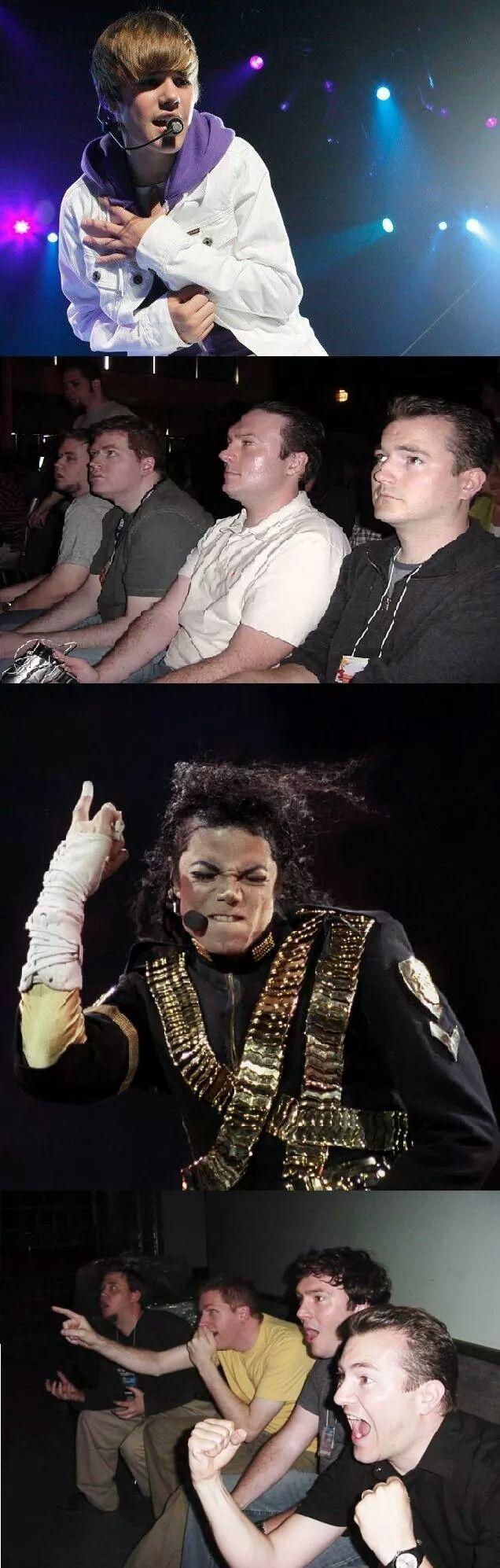 El verdadero rey del pop - meme