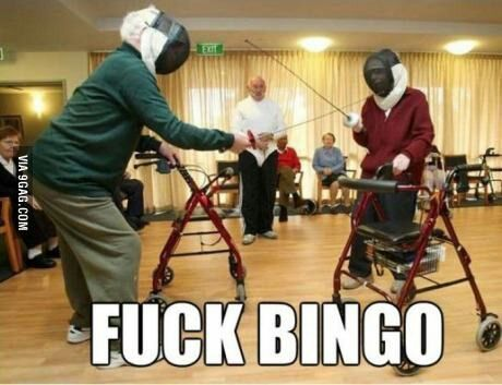 I love these pensioners - meme