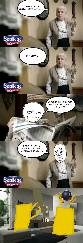 #instasottilettespaccatutto - meme