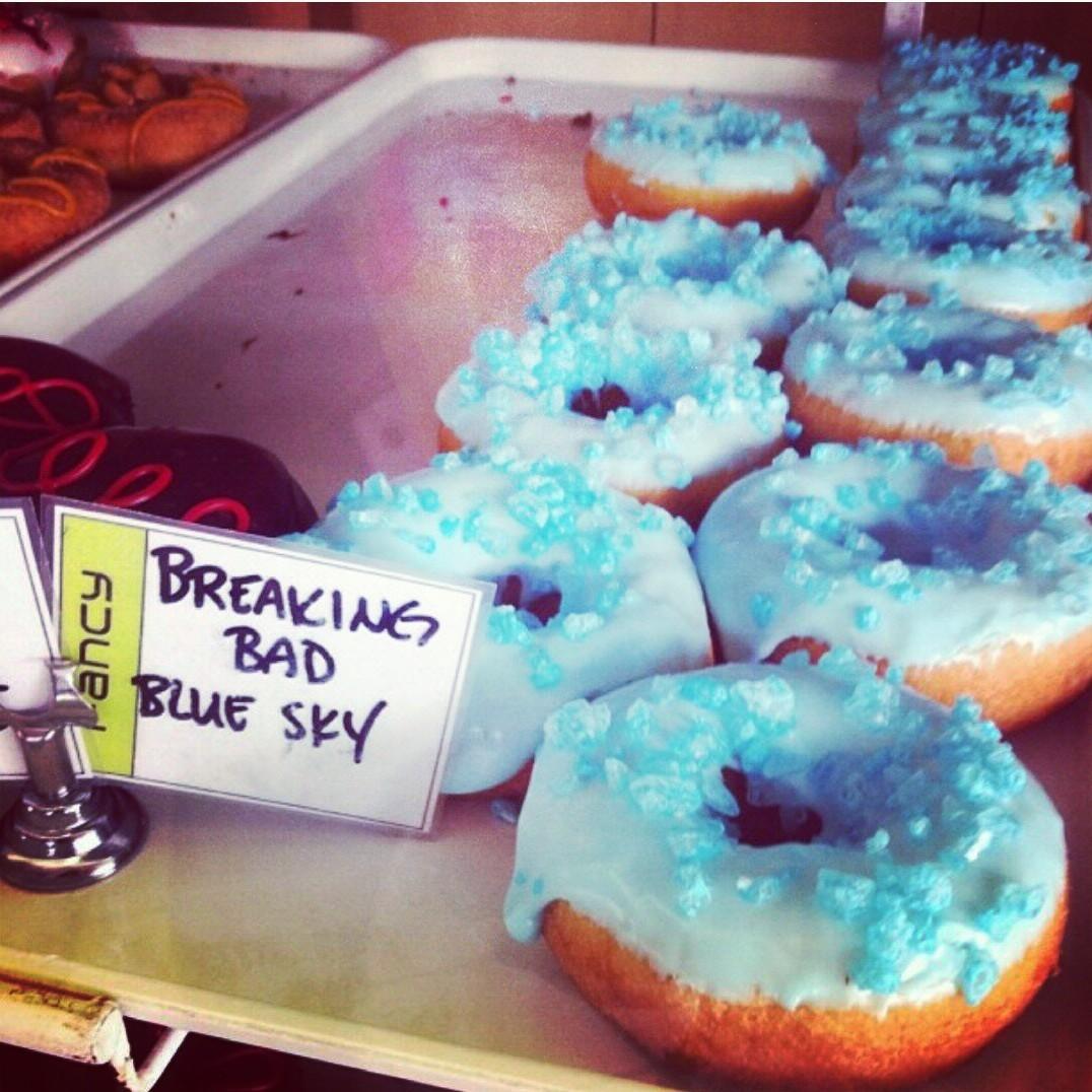 Official Breaking Bad 'Blue Meth' Donut of Albuquerque, NM. - meme