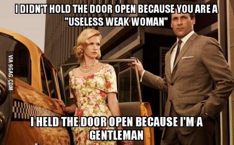 Be a man!.... Be gentle, Im a virgin - meme
