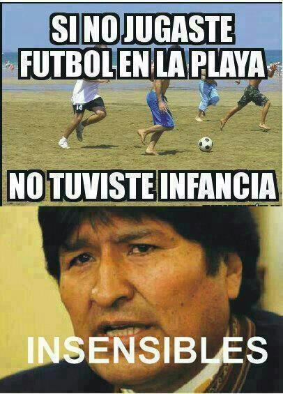 pobre bolivia - meme
