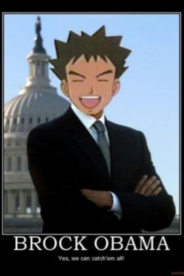 Brock Obama - meme