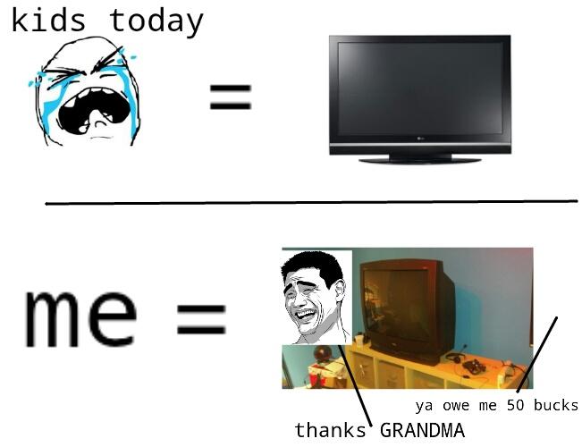 i love my tv though - meme
