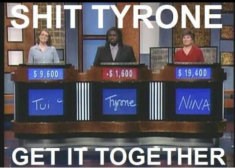 Damn Tyrone - meme