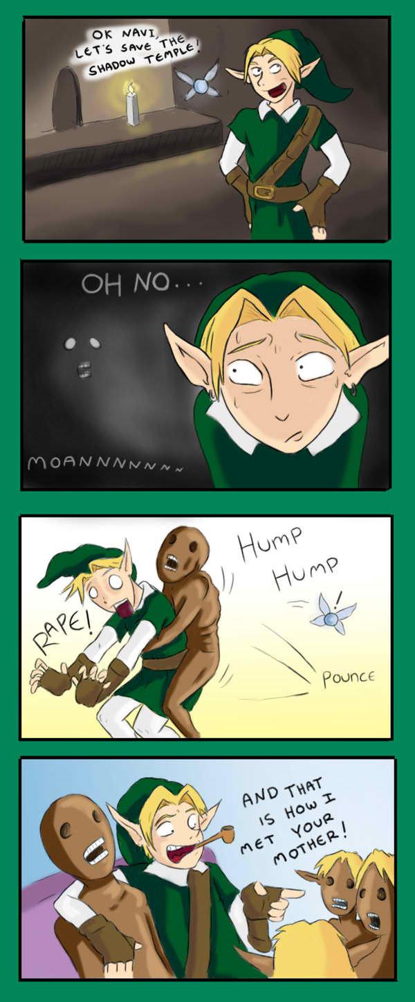 Favourite Legend of Zelda game? - meme