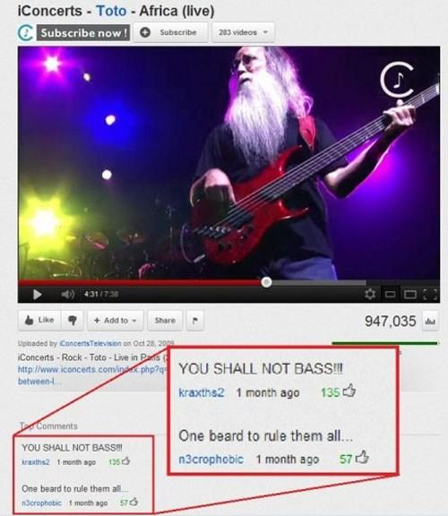 metal beard - meme