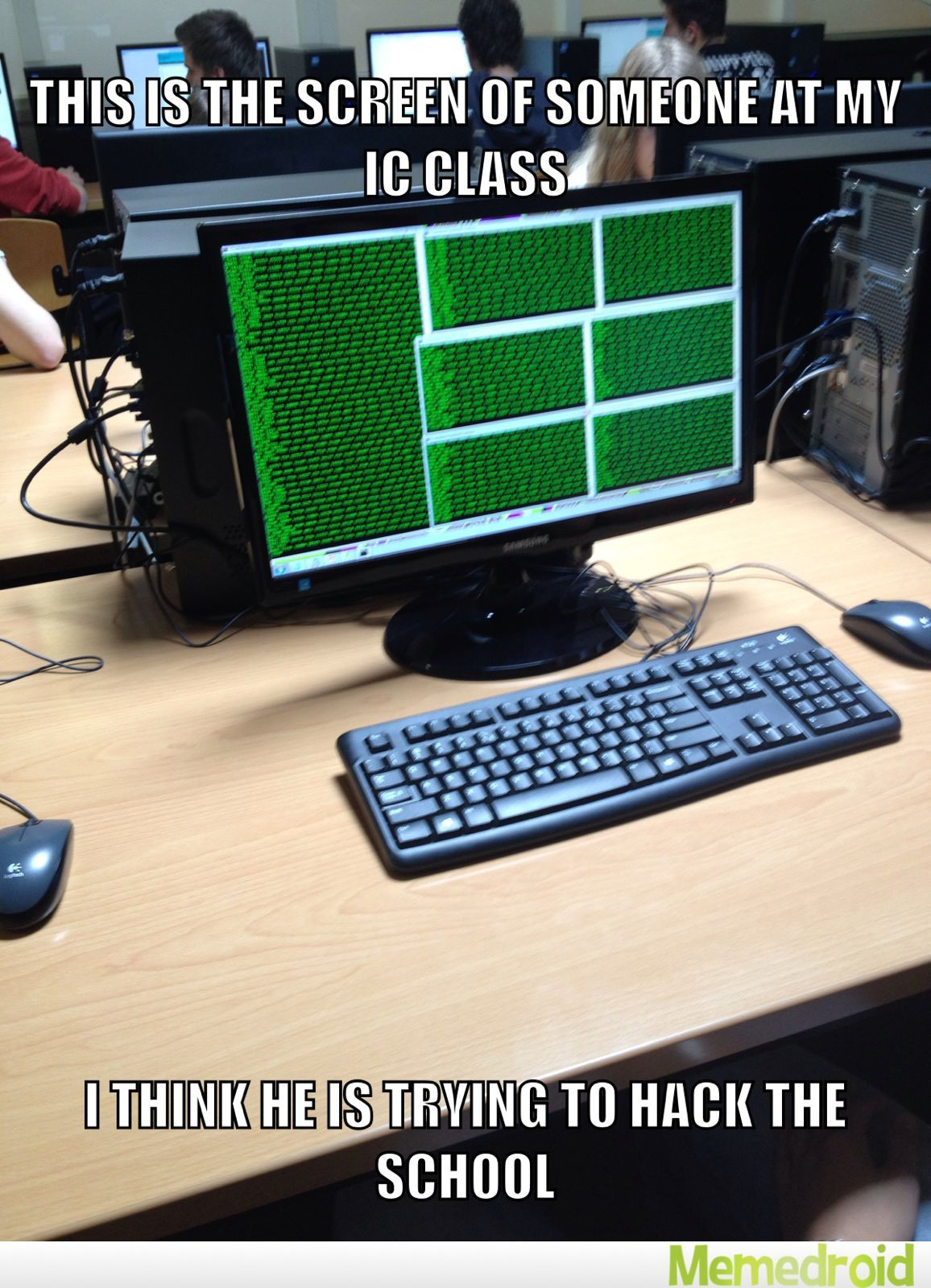 Hackers all over the world - meme