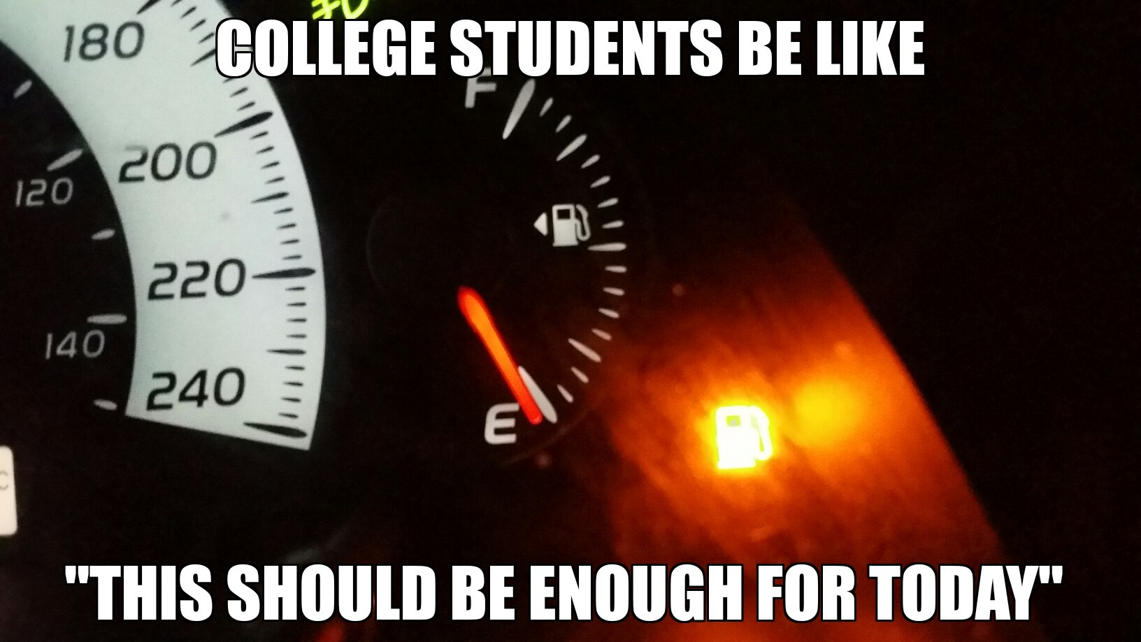 college students know that feeling - meme
