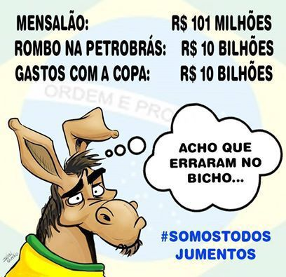 #somostodosbrasileiros - meme
