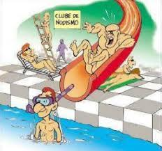 club de nudismo - meme