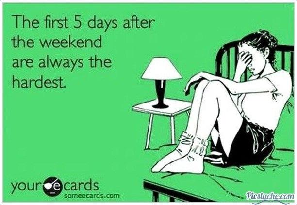 Weekend - meme