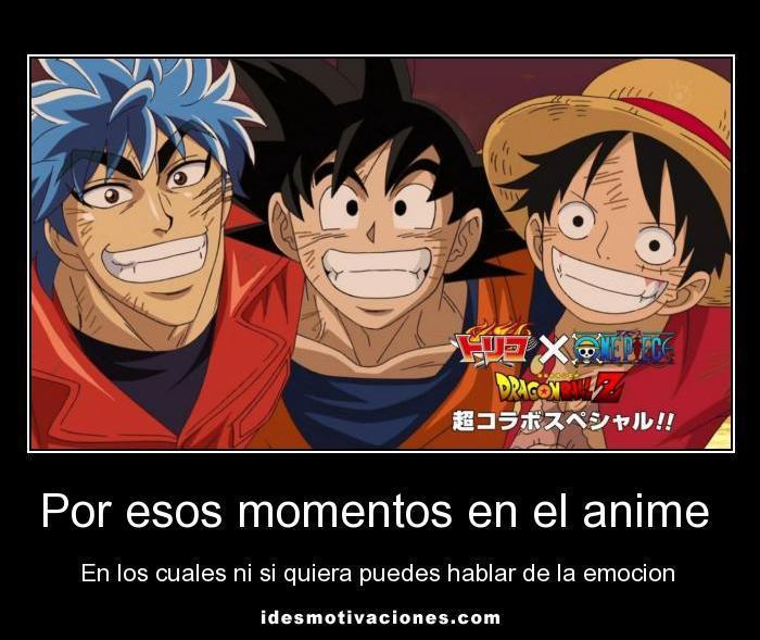 Toriko, GOKU Y Luffy