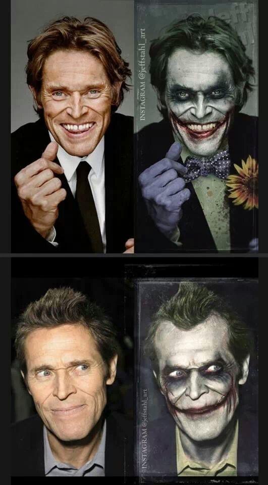 I think he'd make a great Joker - meme