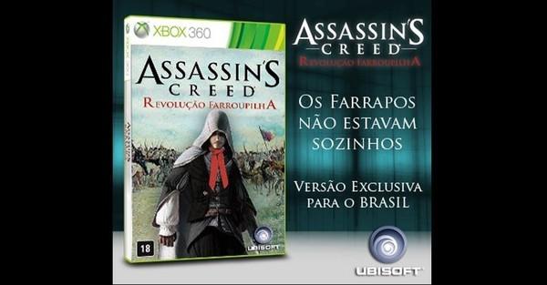 Assassin's Creed Revolução Farroupilha - meme