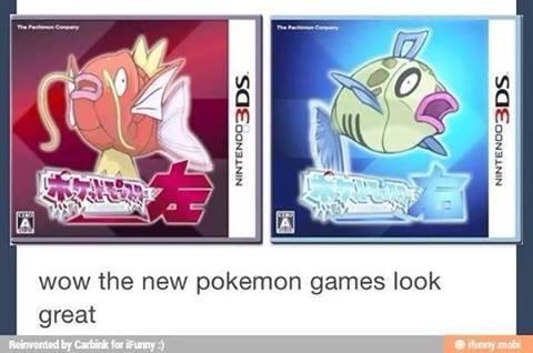 Pokémon Left and Pokémon Right - meme