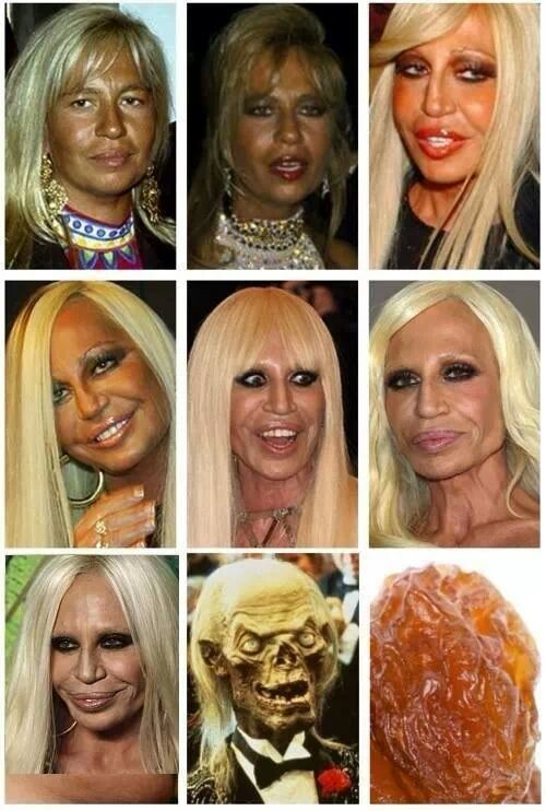 Evolution Of Donatella Versace Meme By Kateeth Memedroid
