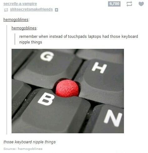Or just trackball? - meme