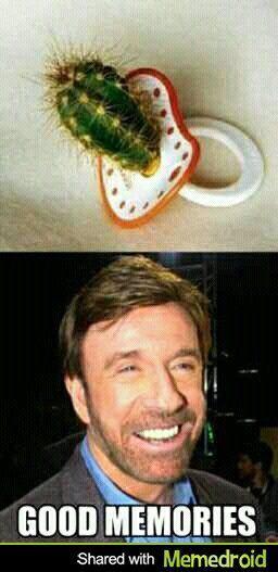 La Infancia De Chuck Norris - meme