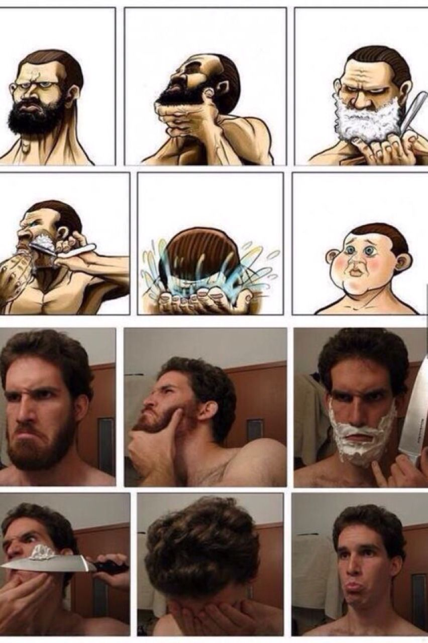 Картинки приколы про бороду, стол накрытый